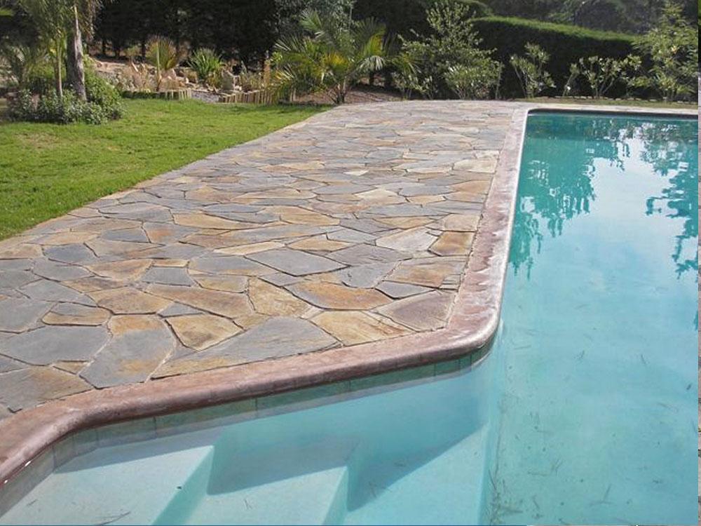 Bordes de piscina piedras valle grande for Bordes decorativos para piscinas